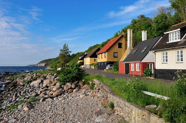 Wybrzeże Bornholmu można przejechać na rowerze / fot. Shutterstock