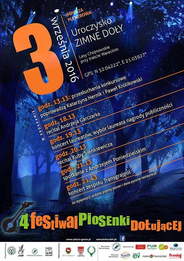4 Festiwal Piosenki Dołującej / mat.pras.