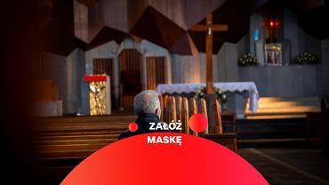 Czy w kościele trzeba nosić maseczkę? (zdjęcie ilustracyjne)