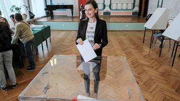 Eurowybory 2019. Głosuje w Poznaniu Sylwia Spurek