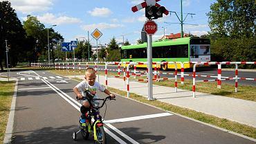 Miasteczko ruchu drogowego w Parku Tysiąclecia