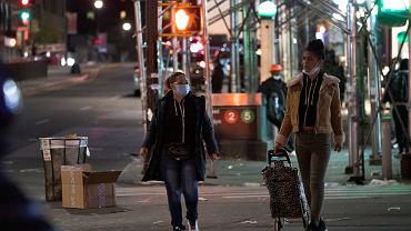 Nowy Jork w czasie epidemii koronawirusa, 22 kwietnia 2020 r.