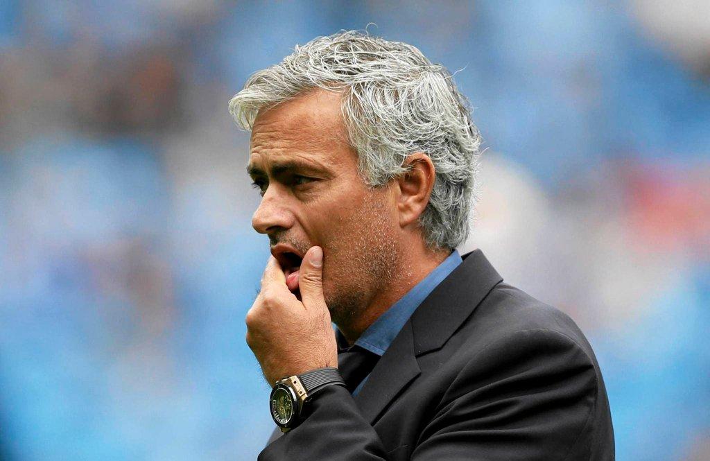 Manchester City - Chelsea. Jose Mourinho