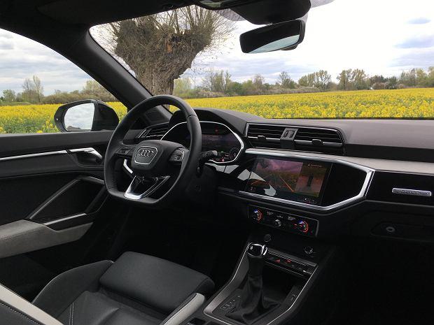 Wnętrze nowego Audi Q3 Sportback