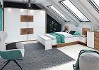Sypialnia na poddaszu - pomysły na aranżację wnętrza ze skosami