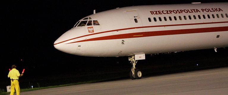 Drugi Tu-154M stoi nieużywany i niszczony