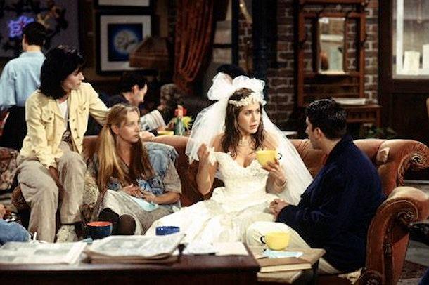 Rachel Greene z 'Przyjaciół' też nie chciała wziąć ślubu