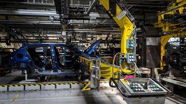 Przygotowania do wznowienia produkcji w fabryce Opla w Gliwicach, 21 kwietnia 2020.