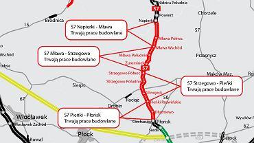 Trasa S7, Płońsk - Napierki