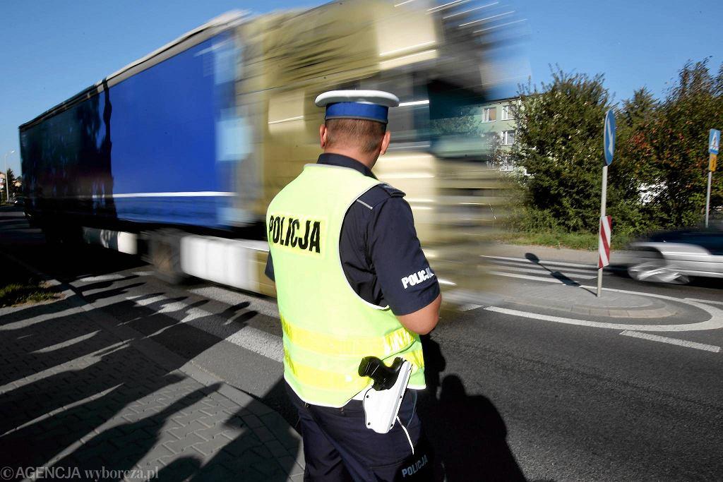 Niemce. Blokada drogi krajowej nr 19