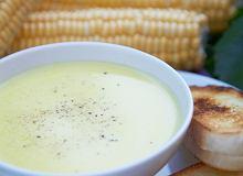 Kremowa zupa z kukurydzy - ugotuj