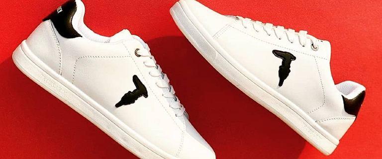 Wyprzedaż butów Trussardi! Wygodne i stylowe sneakersy w dobrej cenie