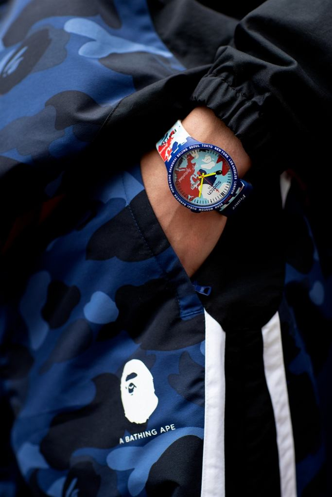 Swatch x A Bathing Ape