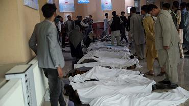 Afganistan. Zamach przed szkołą w Kabulu