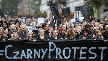 'Czarny protest' w Radomiu