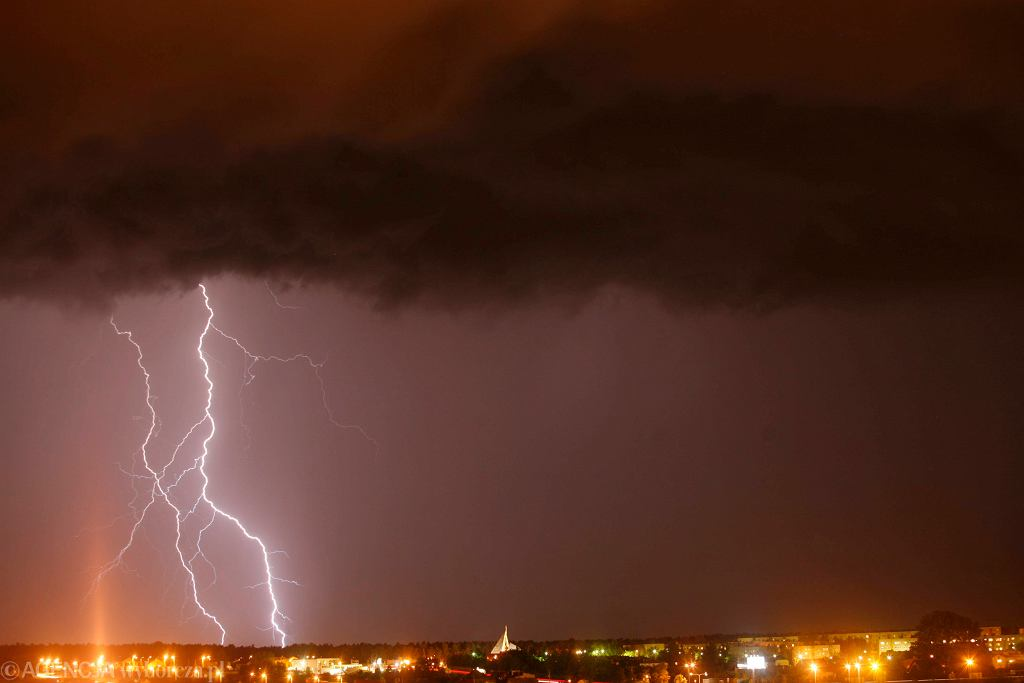 Pogoda. Gdzie jest burza? Alerty IMGW (zdjęcie ilustracyjne)