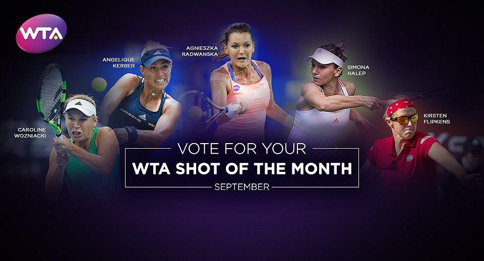 Zagranie miesiąca WTA