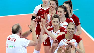 Sparing reprezentacji Polski siatkarek z Bułgarią w Łodzi