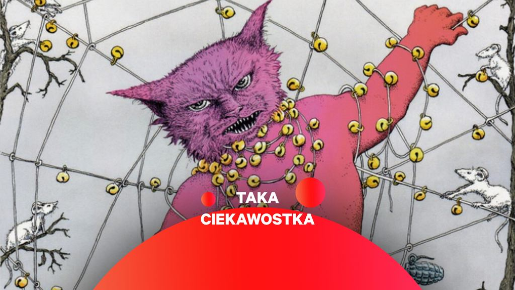 Grafika ukazująca kota z dzwonkami na szyi - Bellingcat