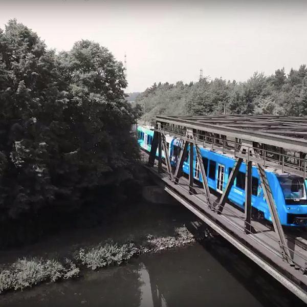 Napędzany ogniwami wodorowymi pociąg Coradia iLint