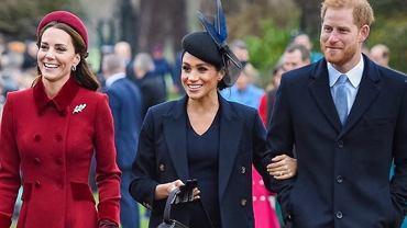 Meghan Markle, książę Harry i księżna Kate