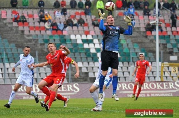 Wiosną Zagłębie również nie potrafiło strzelić gola drużynie z Kluczborka