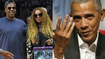 Beyonce, Jay Z, Barack Obama