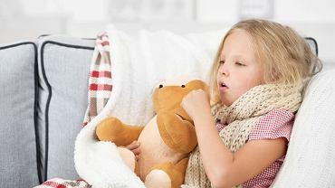 Podgłośniowe zapalenie krtani charakteryzuje się m.in. 'szczekającym' kaszlem