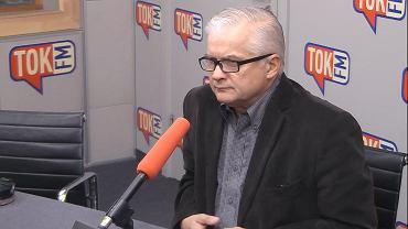 Włodzimierz Cimoszewicz w studiu TOK FM.