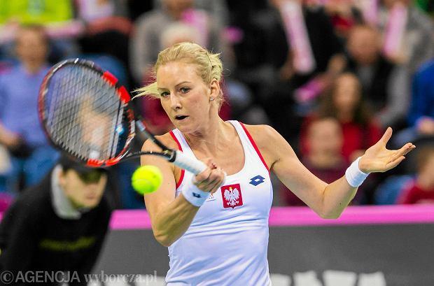 Urszula Radwańska chce wrócić do czołowej setki rankingu WTA