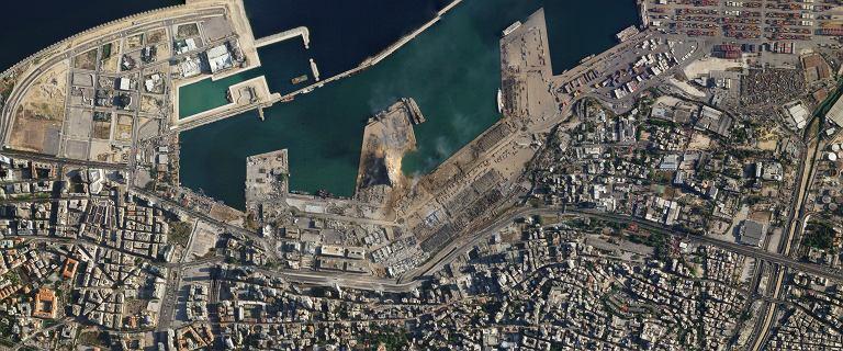 Eksplozja w Bejrucie. Te zdjęcia pokazują skalę zniszczenia