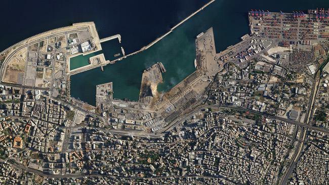 """Eksplozja w Bejrucie. Te zdjęcia pokazują skalę zniszczenia. """"Straty idą w miliardy dolarów"""""""