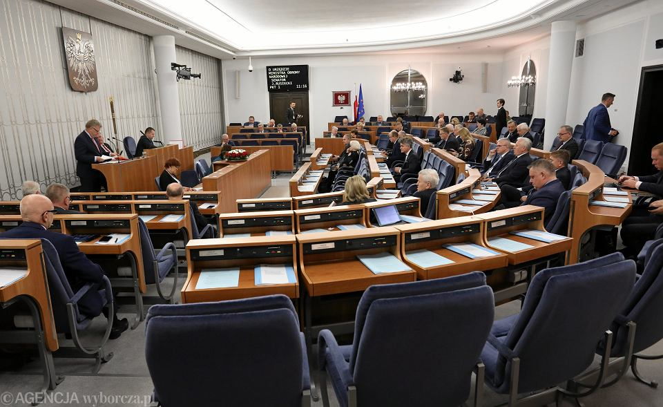 Posiedzenie Senatu, Warszawa, 24 października 2018