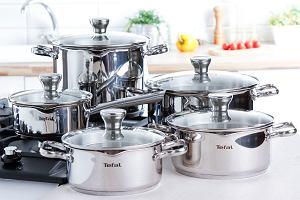 Garnki Tefal - sprawniejsze przygotowanie posiłków