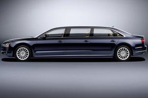 Audi A8 L extended | Limuzyna w rozmiarze XXL