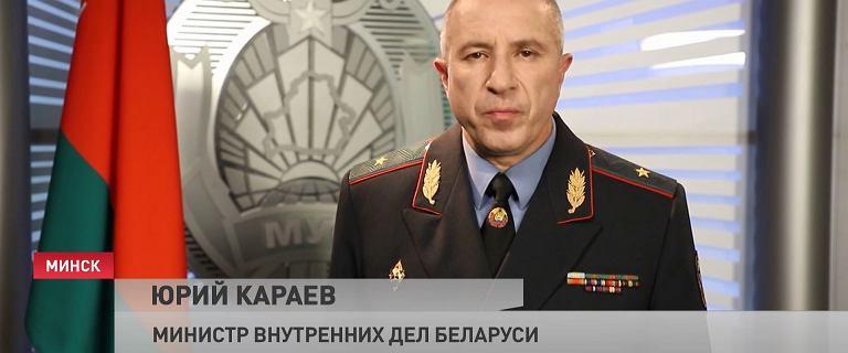 Szef MSW Białorusi: Nie pozwolimy na destabilizację sytuacji w kraju