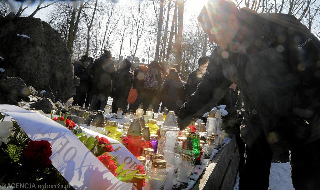Hajnówka, mieszkańcy upamiętniają ofiary Romualda Rajsa ps. 'Bury'
