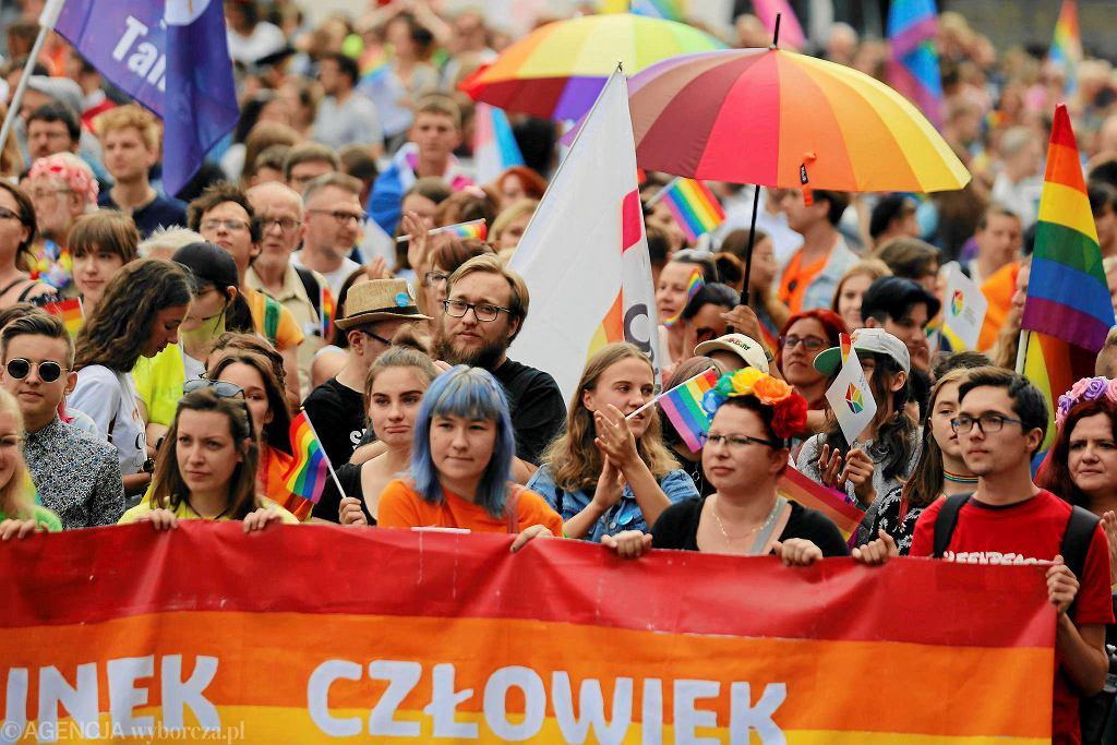Wrzesień 2019. Marsz Równiści w Katowicach