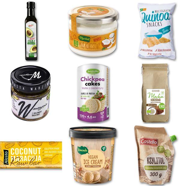 Produkty wegańskie i wegetariańskie w Lidlu