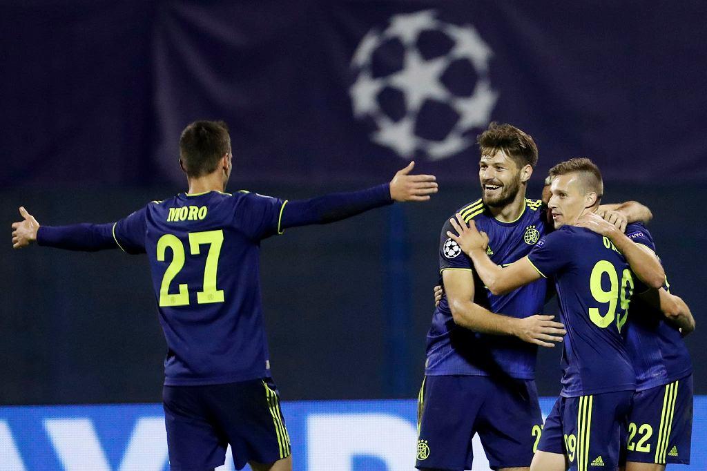 Dinamo Zagrzeb wygrywa z Atalantą Bergamo