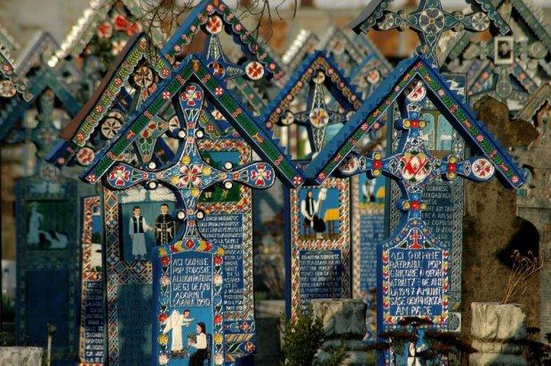 Wesoły cmentarz w Rumunii jest na liście światowego dziedzictwa UNESCO