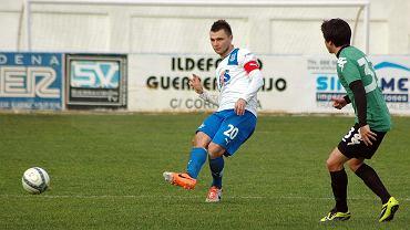 Lech Poznań - FK Krasnodar 0:0 w sparingu rozegranym w Arcos de la Frontera. Hubert Wołąkiewicz