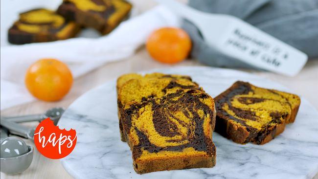 Ciasto marmurkowe dyniowo-czekoladowe
