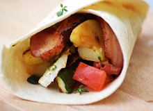 Tortilla z grilowanymi warzywami - ugotuj