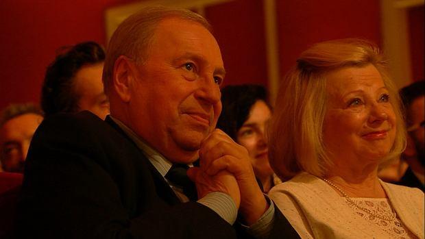Jerzy Stuhr z żoną, Orły 2018