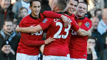 Radość graczy Manchesteru