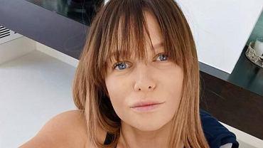 Anna Lewandowska dopiero teraz pokazała jak wyglądało jej ciało tuż przed porodem.