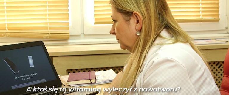 Twierdzą, że leczą raka witaminą C. Pokazaliśmy nagrania onkolożce