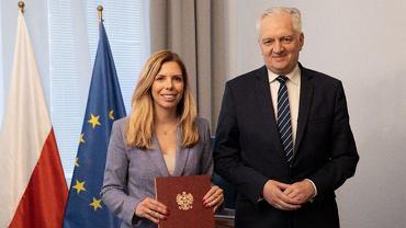 Jarosław Gowin powołał, zdymisjonowaną przez premiera Annę Kornacką, na funkcję Pełnomocnika Ministra do spraw Inwestycji i Zielonego Ładu