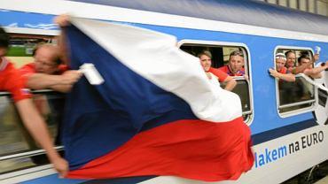Czescy kibice podczas Euro 2012